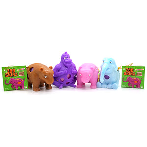 Zoo Skinz Smarties-Filled Egg Candy Toy