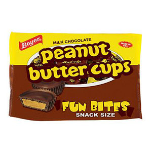 Boyer Peanut Butter Cups Fun Bites Snack Size - 10-oz. Bag