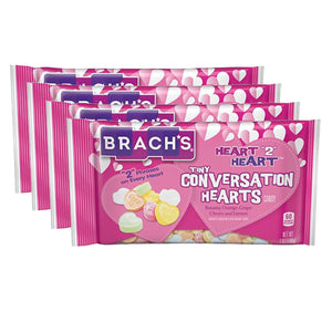 Brach's Heart 2 Heart Tiny Conversation Hearts Candy Bags