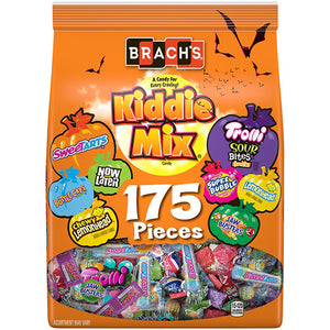 Brach's Kiddie Mix Halloween Candy Variety Pack - Bag of 175