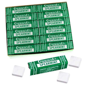 Choward's Spearmint Mints - 15-Piece Pack