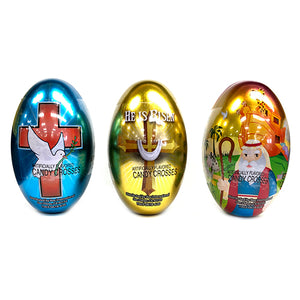 Inspiration Easter Eggs Filled With Candy Crosses - 1-oz. Tin