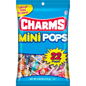 Charms Mini Pops Lollipops - 3.95-oz. Bag
