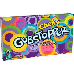 Chewy Gobstopper Jawbreakers - 3.75-oz. Theater Box