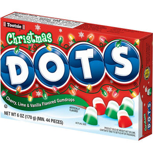 Christmas DOTS Gumdrops - 6-oz. Theater Box