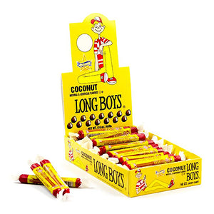 Atkinson's Coconut Long Boys Chewy Caramel .34-oz. - Case of 48