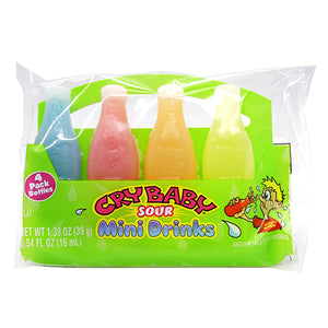 Cry Baby Sour Mini Drink 4-Pak 1.39 oz.