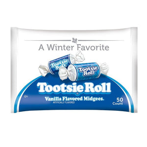 Tootsie Roll Limited Edition Vanilla Flavored Midgees