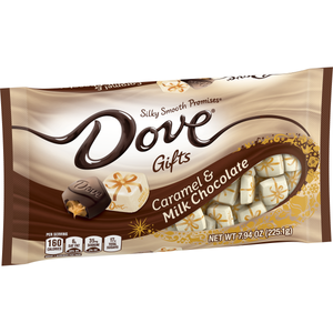 Dove Gifts Caramel and Milk Chocolate - 7.94-oz. Bag