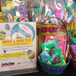 Help Us Build Spring Baskets for Patients at UH Rainbow Babies and Children's Hospital- Candy Donation