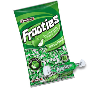 Frooties Green Apple Chewy Candy - 2.42 LB Bulk Bag