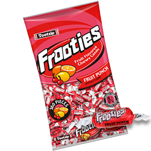 Frooties Fruit Punch Chewy Candy - 2.42 LB Bulk Bag