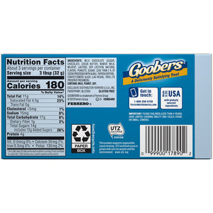 Goobers Chocolate Covered Peanuts - 3.5-oz. Theater Box
