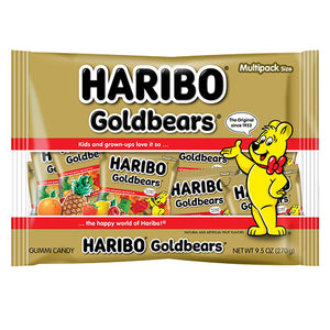 Haribo Goldbears Gummi Candy Multipacks - 9.5-oz. Bag