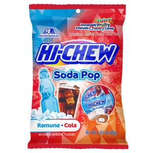 Hi-Chew Soda Pop Mix Ramune/Cola Chews - 2.82-oz. Bag
