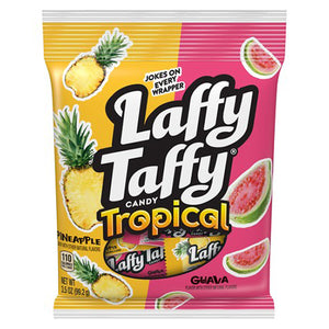 Laffy Taffy Tropical Guava & Pineapple Mini Bars - 3.5-oz. Bag