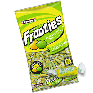 Frooties Lemon Lime Chewy Candy - 2.42 LB Bulk Bag