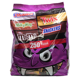 Mars Chocolate Halloween Assortment - Bag of 250