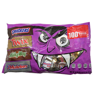 Mars Halloween Chocolate Minis Assortment - Bag of 100