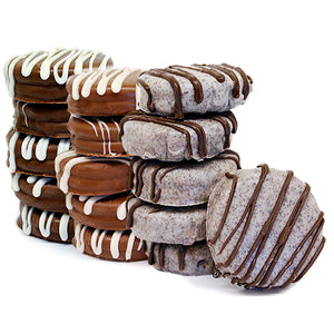 Gourmet Chocolate Covered Oreo Cookies - 12-Piece Gift Box