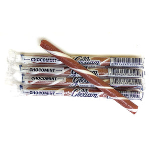 Old Fashioned Candy Sticks, Chocomint - Box of 80