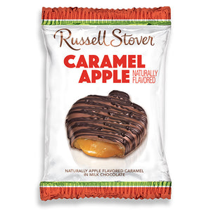 Russell Stover Caramel Apple Candy Bar 1.3 oz.