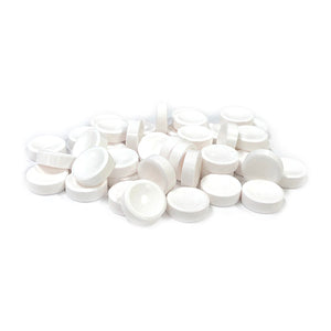 Smarties White Unwrapped Candy Tablets - 3 LB Bulk Bag