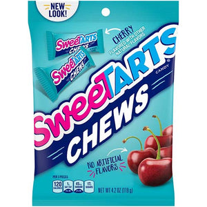 Cherry SweeTARTS Chews Candy - 4.2-oz. Bag