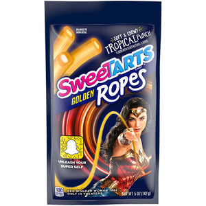 SweeTARTS Tropical Punch Golden Ropes Soft & Chewy Candy - 5-oz. Bag