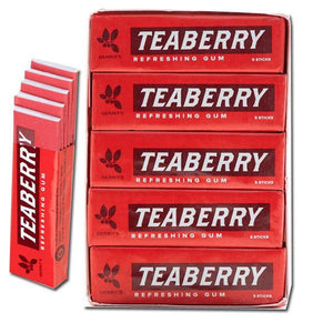 Teaberry Chewing Gum - 5 Stick Pack