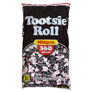 Tootsie Roll Mini Midgees - 2.42 LB Bulk Bag