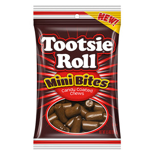 Tootsie Roll Mini Bites Candy Coated Chews - 5.5-oz. Bag