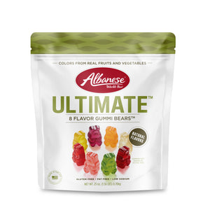 Albanese Ultimate 8 Flavor Gummi Bears - 25-oz. Bag