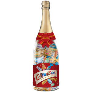 Celebrations Mini Chocolate Bars filled Champagne Bottle - 9.52 oz.