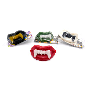 Wack-O-Wax Assorted Color Wax Fangs