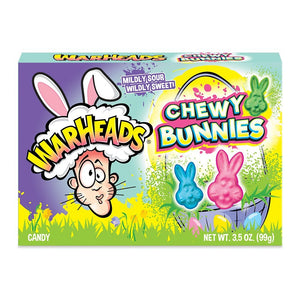 Warheads Easter Chewy Bunnies - 3.5-oz. Theater Box