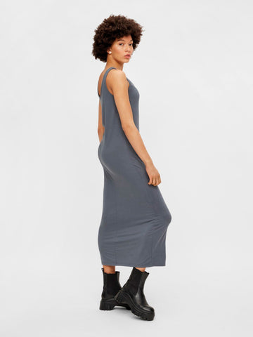 Pieces - PcKalli Maxi Tank Dress - Ombre Blue Kjoler