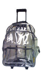 Cyclone - Rolling Clear Backpack (Clearance)