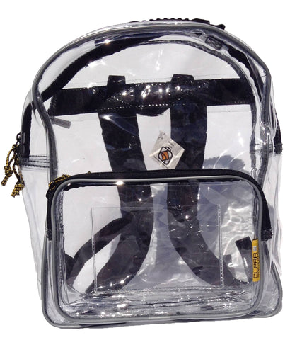 Safari Light - Small Clear Backpack with 1 Pocket