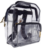 Safari - Small Clear Backpack with 1 Pocket