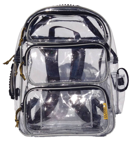 Aurora - Reflective - Large Clear Backpack / Pro Line