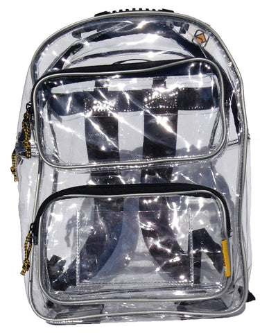 Yuma - Large Clear Backpack