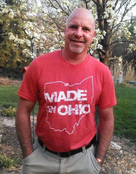 Made in Ohio Red Crew T-Shirt - Sugar Pie Tees T-Shirt