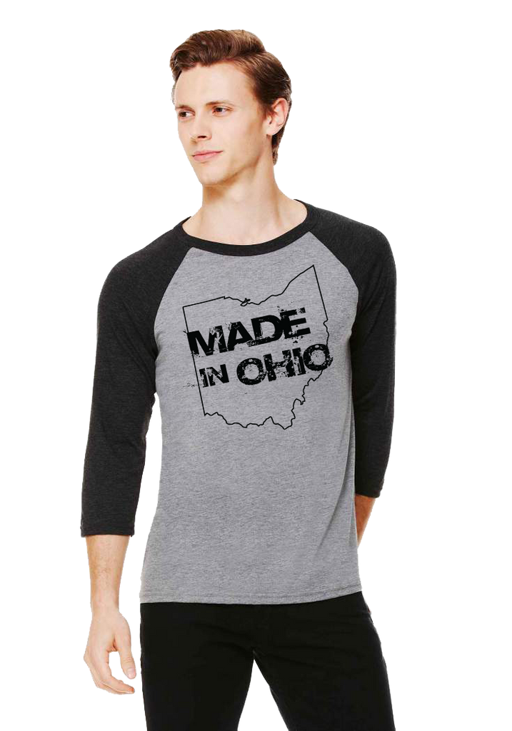 Made In Ohio Gray Charcoal Baseball