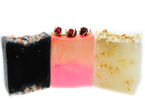 Variety pack Soaps 3 slices (discounted)-
