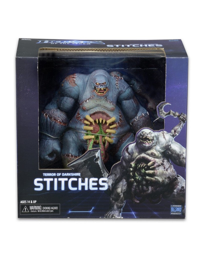 "NECA Heroes of the Storm 7"" Stitches action figure"