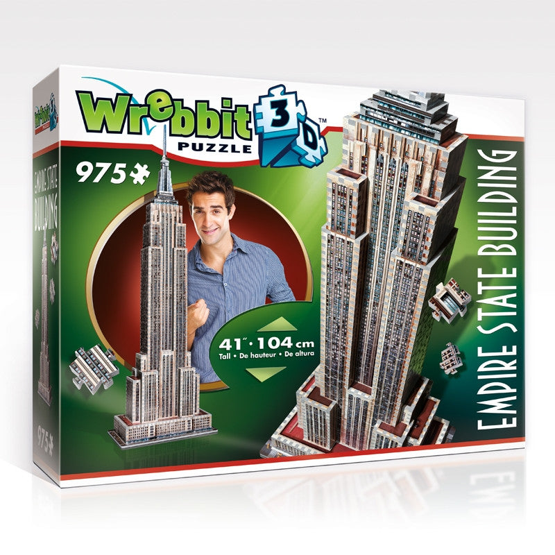 Wrebbit 3D Empire State Building - 975 Pieces