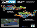 K'nex Land Rocket Building set back