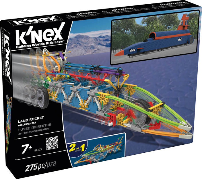 K'nex Land Rocket Building set