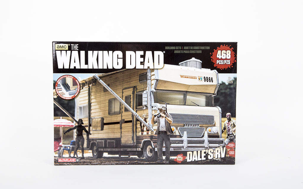 McFarlane Toys Walking Dead Dale's RV Construction Set front